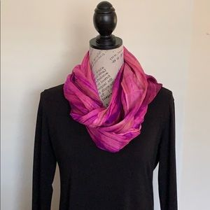 NEW Hand dyed 100% Silk Watercolor Scarf